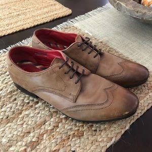 Mens base london lace up shoes